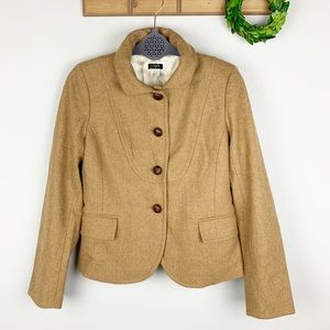 J.CREW Wool Jacket Size 4